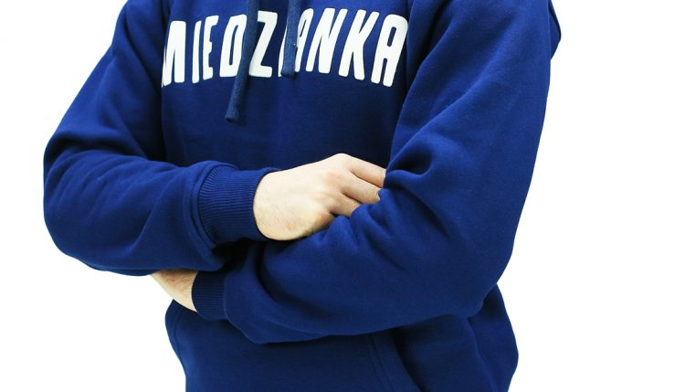 Bluza kangurka – MIEDZIANKA