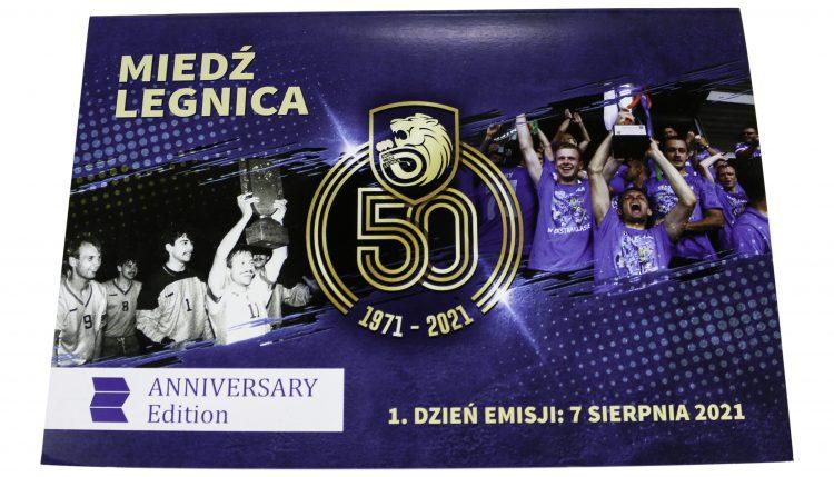 Miedź Legnica – etui podwójne Anniversary Edition